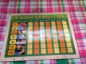 Melissa and Doug wooden chore chart