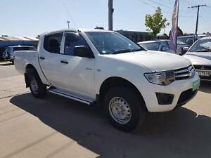 2011 Mitsubishi Triton Ute AUTO TURBO DIESEL Williamstown North Hobsons Bay Area Preview