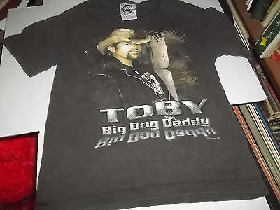 TOBY KEITH BIG DOG DADDY 2007 CONCERT TOUR KIDS CHILD SMALL SIZE 6-8 T SHIRT