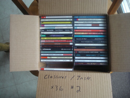Classical / Instrumental 36 CD lot #2 w/ free shipping!