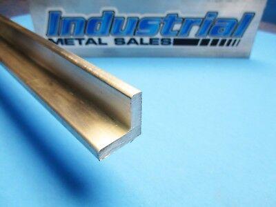 6061 T6 Aluminum Angle 1 X 1 X 12 Long X 14 Thick-- 1 X 1 X 12 X .250
