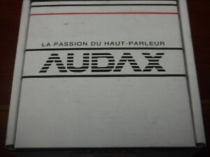 Pair Audax Tweeters -- TM010A7 -- Loud Speaker -- Made in France - (NEW)