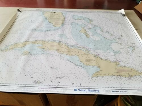 Nautical Chart 11013 WP NOAA Straits of Florida