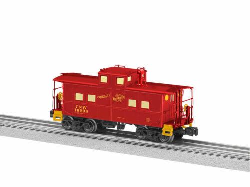 LIONEL 1926830 CHICAGO NORTHWESTERN CNW NORTHEASTERN RED CABOOSE O GAUGE TRAIN