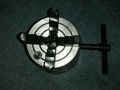 New Atlas Craftsman 6 Inch Swing Lathe 4 Inch 4 Jaw Lathe Chuckkey 1-10 Mount