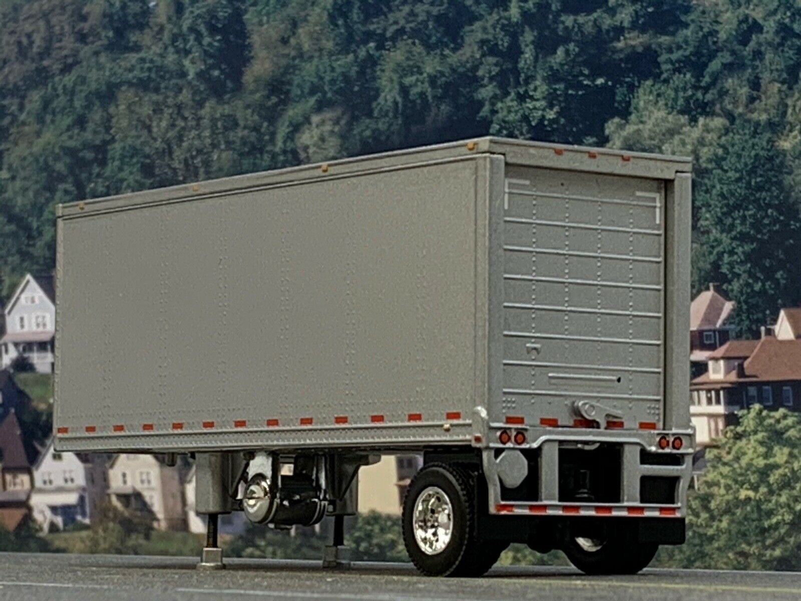 1/64 DCP SILVER WABASH CARRIER REEFER PUP TRAILER 1