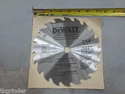 "DEWALT DW3523 7-1/4"" Combo Bulk Saw Blades - 5 Pack"