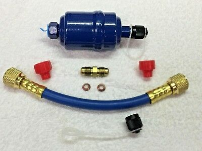 Universal Refrigerant Recovery In-let Filter Pre-filter Kit All-in-one Kit