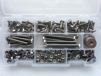 Assorted Stainless Steel Fastener Kit 14 Tap Bolt Kit