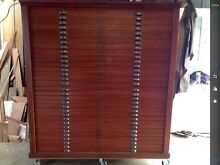 "19th CENTURY MAHOGANY ""32DRAWERS"" MAP DRAWERS  REDUCED BY $1500 Hobart CBD Hobart City Preview"