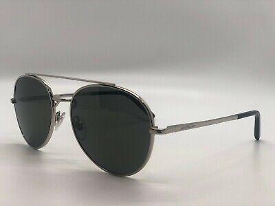Mont blanc Aviator Mens Sunglasses MB 605S 16D Palladium/Black Polarized (Mont Blanc Polarized Sunglasses)
