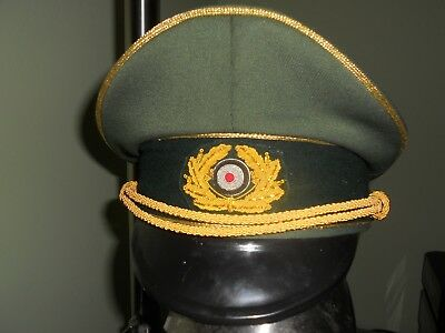 German General's Hat-Size 60--CRUSHER STYLE (German Hat)