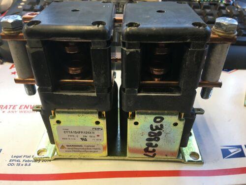 HYSTER 0388227 CONTACTOR 100A 24 VOLT EV100 DPDT F/R W/.290 TIPS