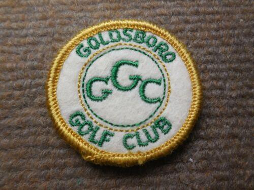 Vintage Goldsboro Golf Club North Carolina Felt Patch