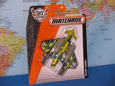 MATCHBOX MBX SKYBUSTERS TILTIN TURBO AIRPLANE ***BRAND NEW & VHTF***