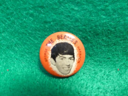 Vintage 1964 The Beatles Green Duck Company Chicago IL Pinbacks George