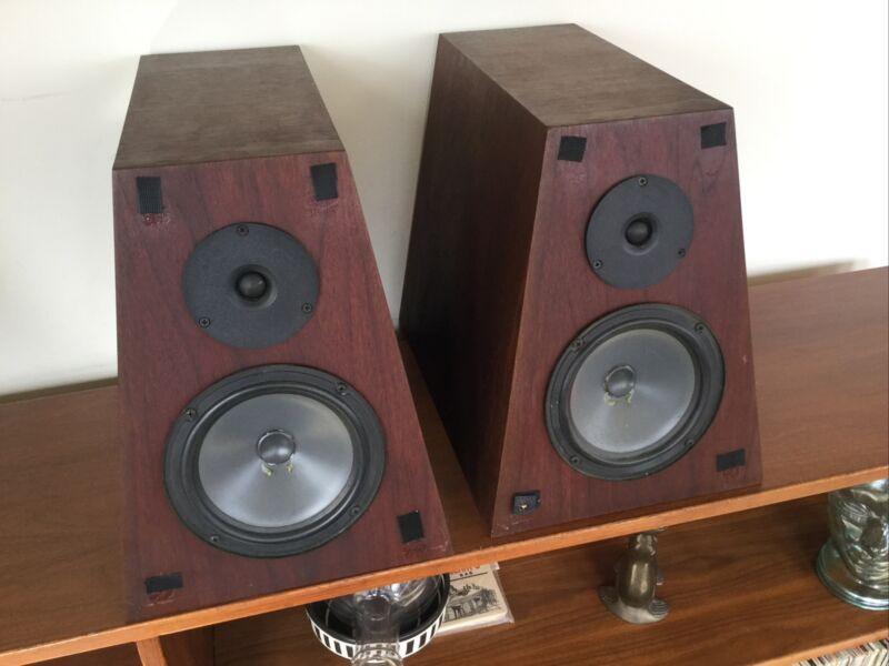 Bud Fried Audio Model C3L Monitor Audiophile Speakers. TOTL Pyramid Design.