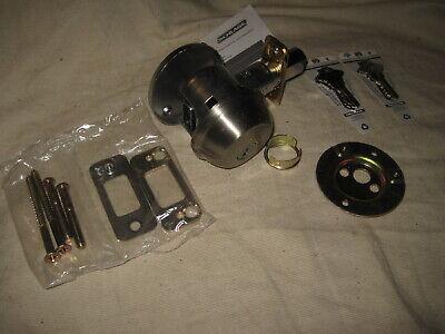 Schlage Satin Nickel Single Cylinder Deadbolt Lock Used