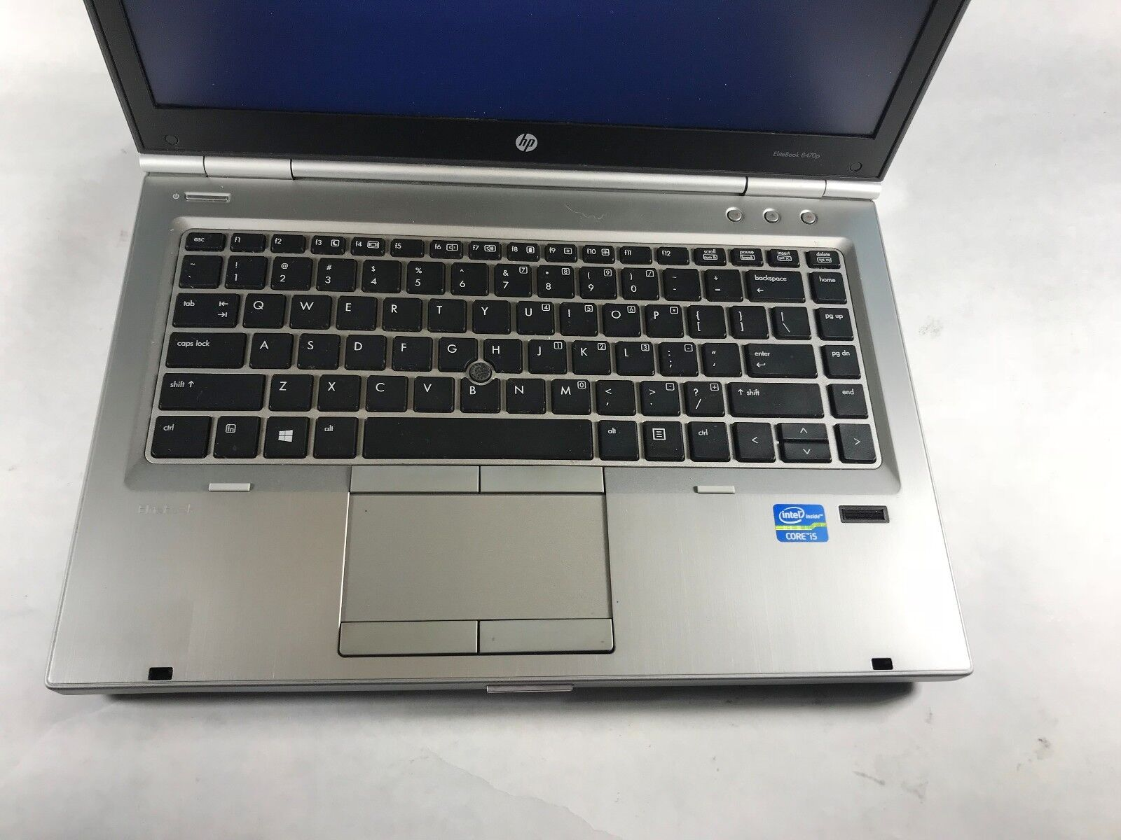 Laptop Windows - HP EliteBook 8460p Laptop / i5 2.5GHZ /  4GB DDR3  Windows 10 / Battery TESTED