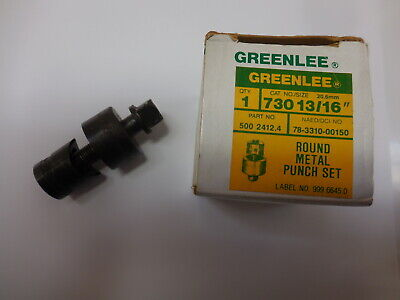 Greenlee 5002412.4 1316 730 Round Knockout Punch And Die Radio Chassis