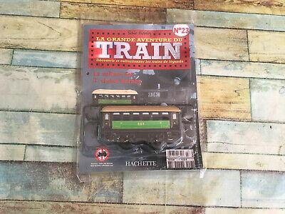 Voiture Est 3ème Classe N°23 Hornby Hachette O La Grande Aventure du Train