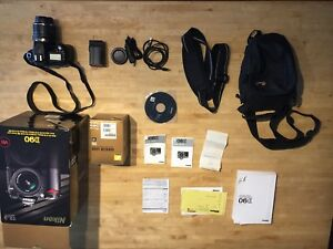 Nikon D90 with extras perfect condition