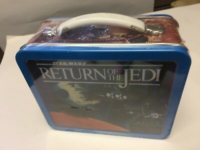Star Wars Return of the Jedi Mini Lunch Box with TAG  Numbered Edition Hallmark