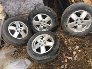 Chev Cavalier wheels and tires