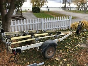PRICE LOWERED!    HEAVY DUTY BOAT TRAILER