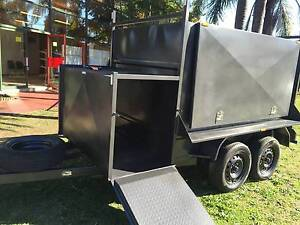 FULLY ENCLOSED 8X5 COMRESSOR BOX 12 MONTHS PRIV REGO $5600 Penrith Area Preview