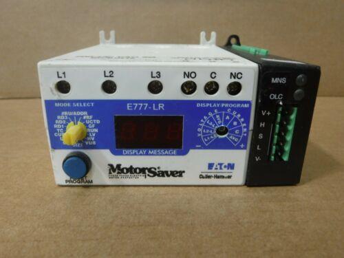 EATON Motor Saver, E777-LR