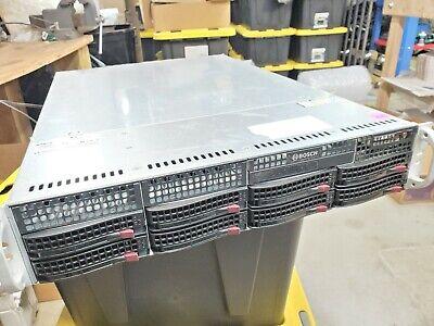 Bosch Divar Ip 6000 Dual Core W 16tb 8x Hdd Security Network Video Recorder