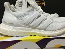 Adidas Ultra Boost Triple White Men's Size US 7 Gowrie Tuggeranong Preview