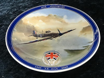Collectors plate - 60th Anniversary of VE Day 1945-2005. Made by Wedgwood ()