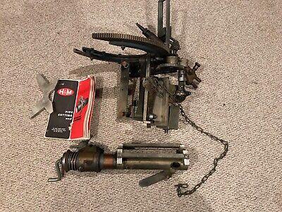 Hm Hm Pipe Cutting Beveling Saddle Type Cutter Torch Machine Beveler 612 Read