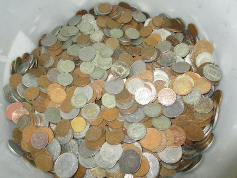 PORTUGUESE COINS ( MIXED LOT ) 1,5 KILO