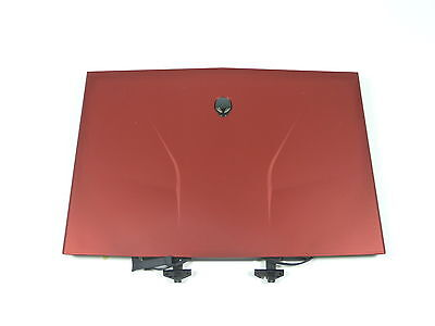 "Dell Alienware M14X 14"" LCD Screen 36NXH 036NXH Complete Laptop Screen Assm RED"