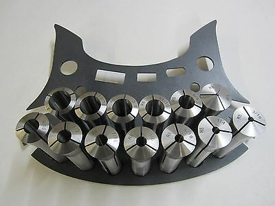 R8 Collet Set - 13 Pcs With Rack 15 Holes