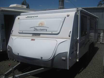 JAYCO DISCOVERY POPTOP, SHOWER/TOILET Yamanto Ipswich City Preview
