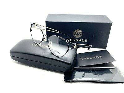 ed9a95aea5 NEW VERSACE VE 1250 1009 GOLD   BLACK AUTHENTIC EYEGLASSES FRAME 52-17