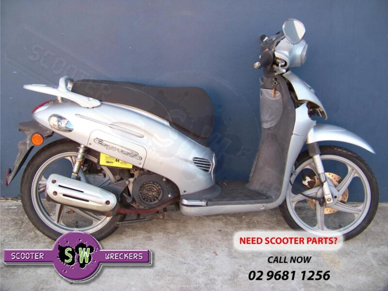 Kymco espresso 150cc 2006 now wrecking all parts parts only 1 of 7 fandeluxe Images