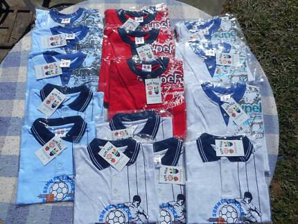 15 BRAND NEW BOYS T-SHIRTS IN RETAIL PACKAGING