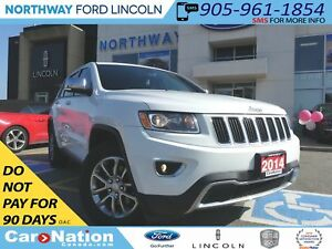 2014 Jeep Grand Cherokee Limited | NAV | REAR CAM | MOON ROOF |