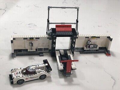 Lego Speed Champions 75876 Porsche 919 Hybrid & 917K Pit Lane INCOMPLETE