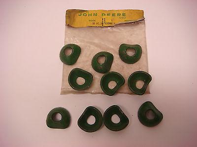 Nos John Deere Part No. Bp11985e Washers 10 Jd088 Vintage Tractor Equipment