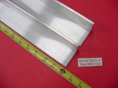2 Pieces 2x 2x 14 Aluminum 6061 Angle Bar 48 Long T6 Extruded Mill Stock