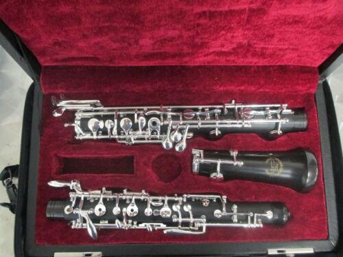 Prestini Professional Oboe full Conservatory – Loree  model – Grenadilla wood