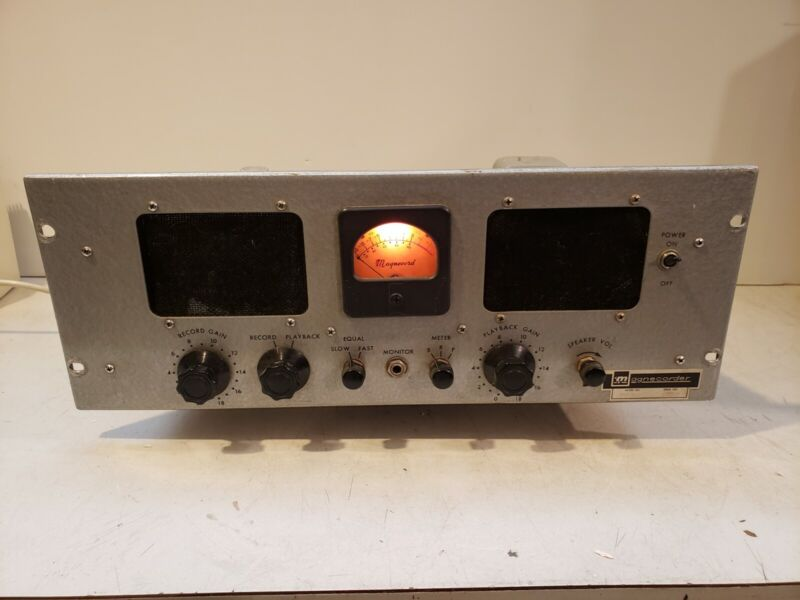 Magnecord Pt63 J Pt 63 Mic Preamp Electronics Working
