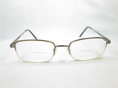 Unbranded 52/20 140 Gunmetal Men's Designer Eyeglass Frames Glasses