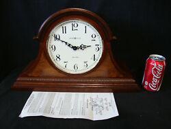 Howard Miller Quartz Mantle Clock Model No. 2114 4/4 - Dual Chime